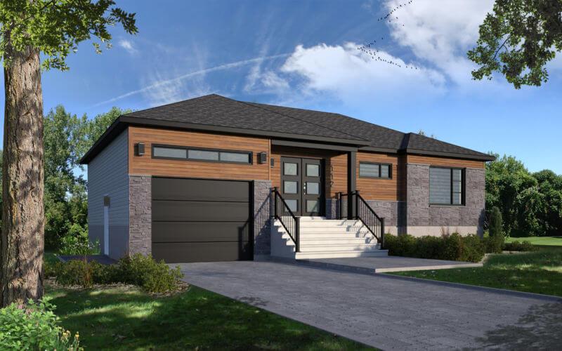 Maison usinée à Trois-Rivières - Maisons usinées S.Turner